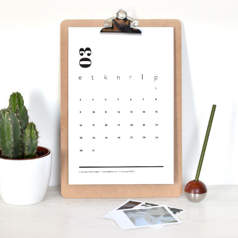 Kalender klipiga